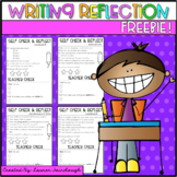 Writing Reflection Freebie