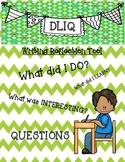 Writing Reflection Tool DLIQ