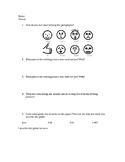 Writing Reflection Worksheet