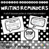 Writing Reminders - Poster Set