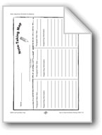 Writing Reports: Note-Taking Map, Outline, and Grid Forms