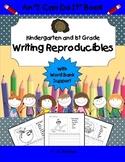 Writing Reproducibles Kindergarten and 1st Grade Worksheet