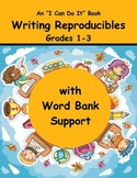 Writing Paper Creative Writing First Grade, Second Grade, Third Grade