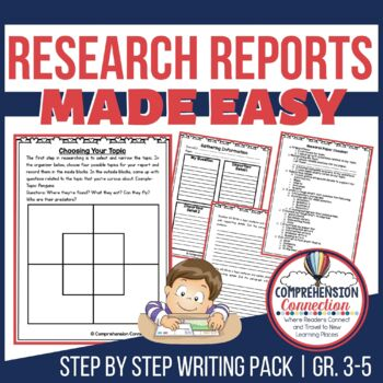 Writing Research Reports Made Easy