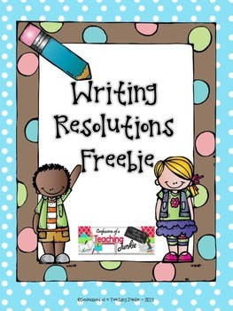 Writing Resolutions Freebie