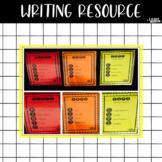 Writing Resource