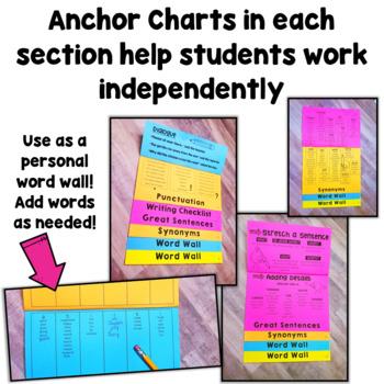 Writing Resource Flip Book