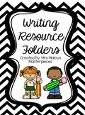 Writing Resource Folders