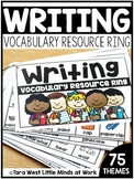 Writing Resource Ring + Response Sheets
