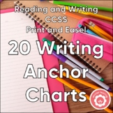 Writing Anchor Charts And Student Notebook Resources