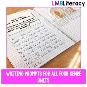 Writing Resources-Bundle-Graphic Organizers, Prompts, and Self Assessments