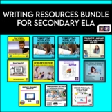 Writing Resources Bundle for Secondary ELA Students