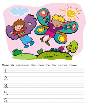 Writing Resources: Captioning and Describing Pictures
