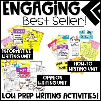 Writing Resources GROWING BUNDLE
