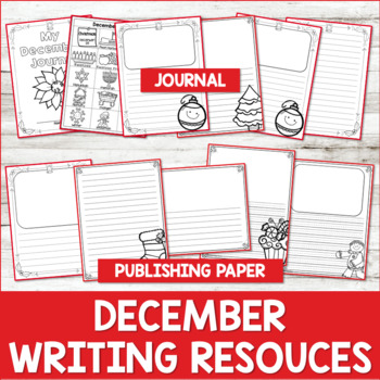 Paragraph Writing  {December}