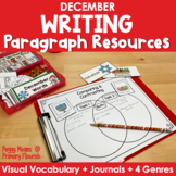 Paragraph Writing  {December}