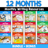 Paragraph Writing Resources / Monthly {BUNDLE}
