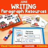 Paragraph Writing {June}