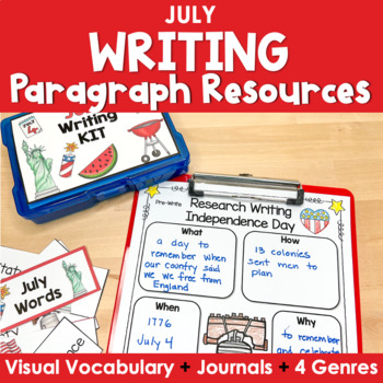 Paragraph Writing  {July}