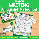 Paragraph Writing  {March}