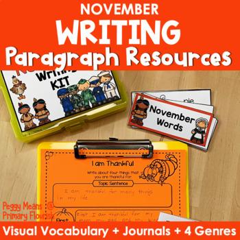 Paragraph Writing {November}