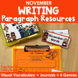 Paragraph Writing {November}