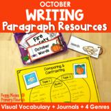 Paragraph Writing  {October}