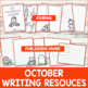 Writing Resources / Monthly {October}