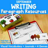 Paragraph Writing {September}
