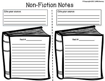 Writing Resources: *Non-Fiction* Graphic Organizers, Prompts, & Self Assessments