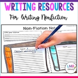 Writing Resources: *Non-Fiction* Graphic Organizers, Promp