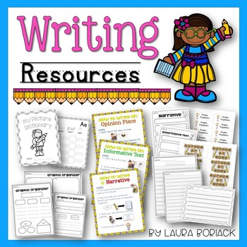 Writing Resources Pack
