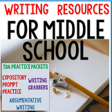 Writing Resources for Middle School ELA