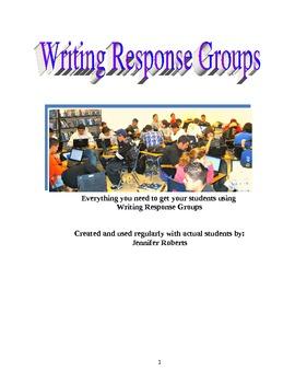 Writing Response Groups: Teacher Guide