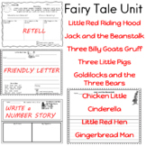 Fairy Tales  Differentiated Writing  Response to Literature  9 Classic Stories