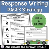 RACES Writing Strategy for Written Responses