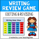 Writing Review Game- Test Prep