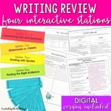 Argumentative Writing Literary Essay Review Stations DIGITAL & PRINT