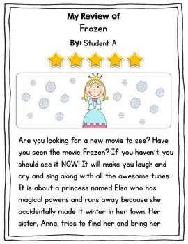 Writing Reviews - An Opinion Writing Unit