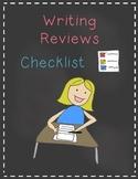 Writing Reviews Checklists