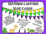 Writing-Revising and Editing QR Code Task Cards- 28 Animal Facts (STAAR)