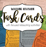 Writing Revision: Differentiated Task Cards