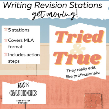 Writing Revision Stations for ANY Essay