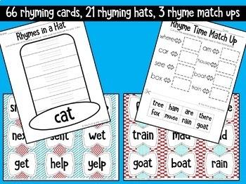 Seuss-tastic Rhymes: a K-2 Poetry Writing & Rhyming Mini-Unit