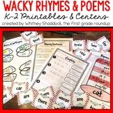 Seuss-tastic Rhymes and Poetry Activities