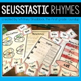 Seuss-tastic Rhymes and Poetry Unit for K-2