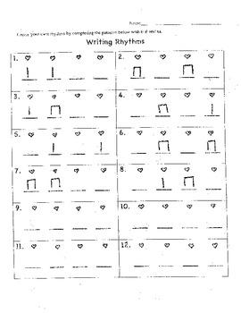 Writing Rhythms