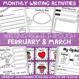 Writing Right Through... February & March