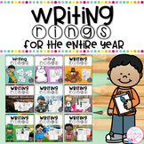 Writing Rings for Writing Workshop Year Long Bundle