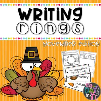 Writing Rings for Writing Workshop: November Writing Activities